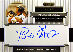MLB RAZOR 2008 SIGNATURE SERIES BASEBALL BOX開封結果 前編