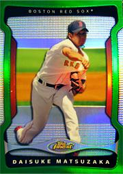 MLB 09 topps FINEST パック開封結果