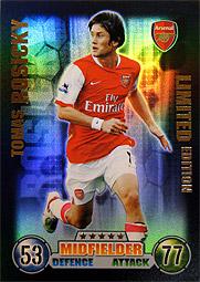 海外サッカーカード アーセナルギャラリー(Match Attax)
