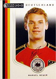 Panini Team Cards 2010 ドイツ代表の開封結果