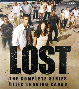 海外ドラマ Lostの新作トレカが発売。今度はプレミアムシリーズ
