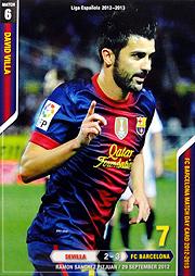 FCバルセロナ マッチデーカード 2012/2013