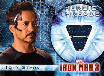 映画 Upper Deck Iron Man 3(アイアンマン3) 開封結果 これはチーム・スタークですね。