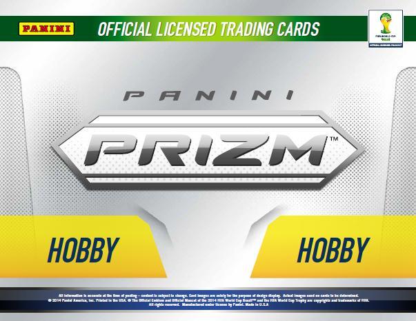 Panini World Cup PRIZM グループブレイク(仮) 概要まとめ1