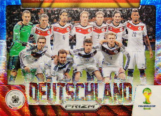 Panini World Cup PRIZM 2BOX目の開封結果