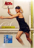 2007 TENNIS ACE STRAIGHT SETS テニスカード