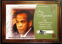 2007 futera ワールドフットボール 1of1 オートは・・・