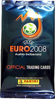 panini EURO2008 オフィシャルカード 開封結果